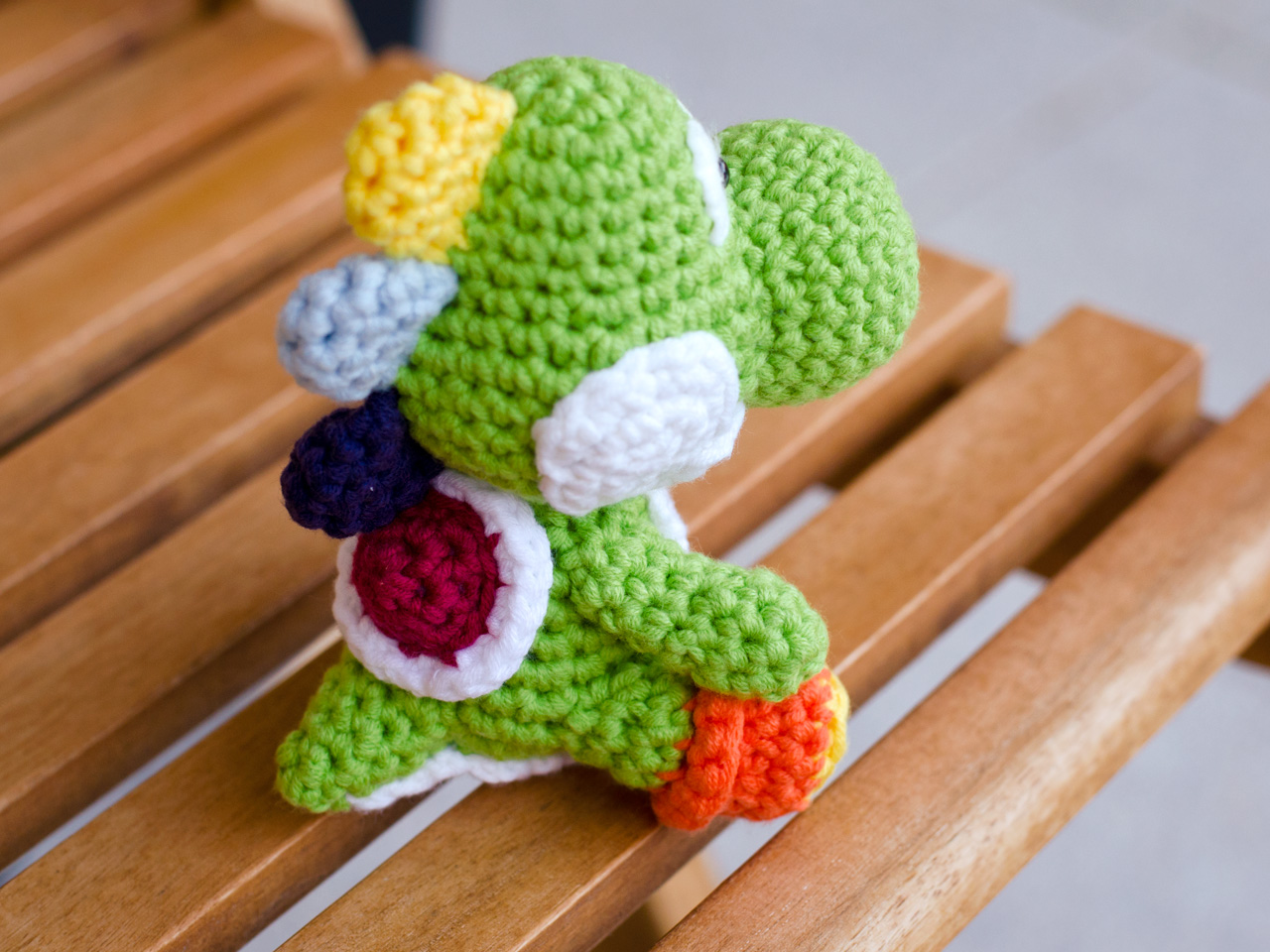 Yoshi Amigurumi (Updated) by DarkAngelYoshi on DeviantArt | 960x1280