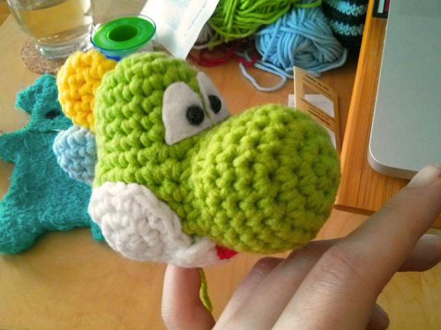 Yoshi Craft Amigurumi Tejido A Mano Crochet Dia Del Niño ... | 480x640