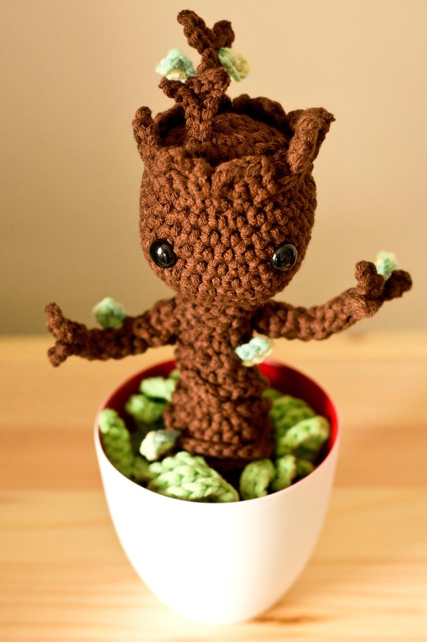 Baby Groot Amigurumi Von Twinkie Chan Groaaar By Anjizilla
