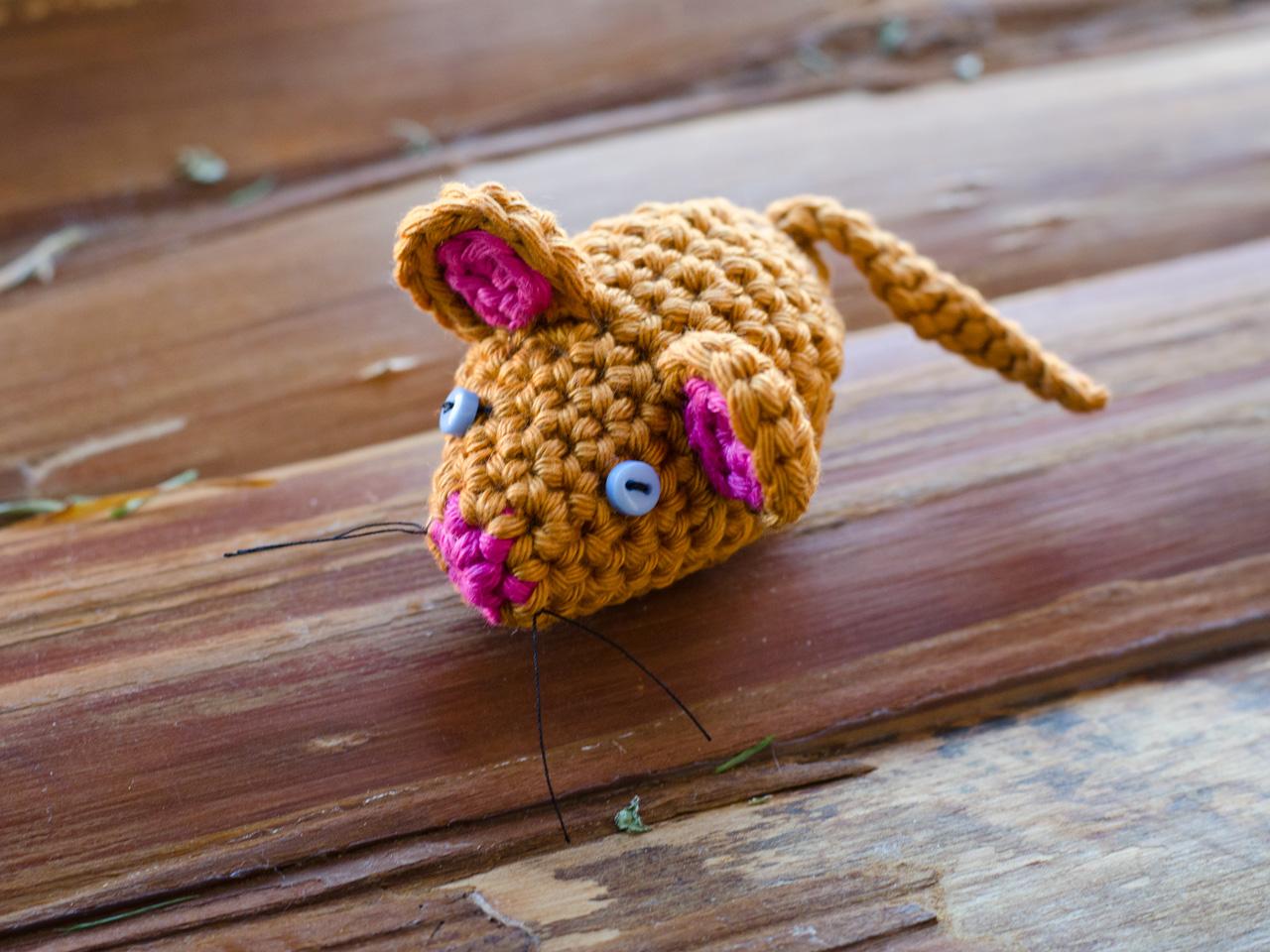 Kleine Maus Amigurumi Groaaar By Anjizilla