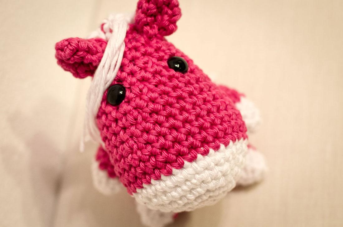 Horse Amigurumi Crochet Tutorial Part 1 - YouTube | 729x1100