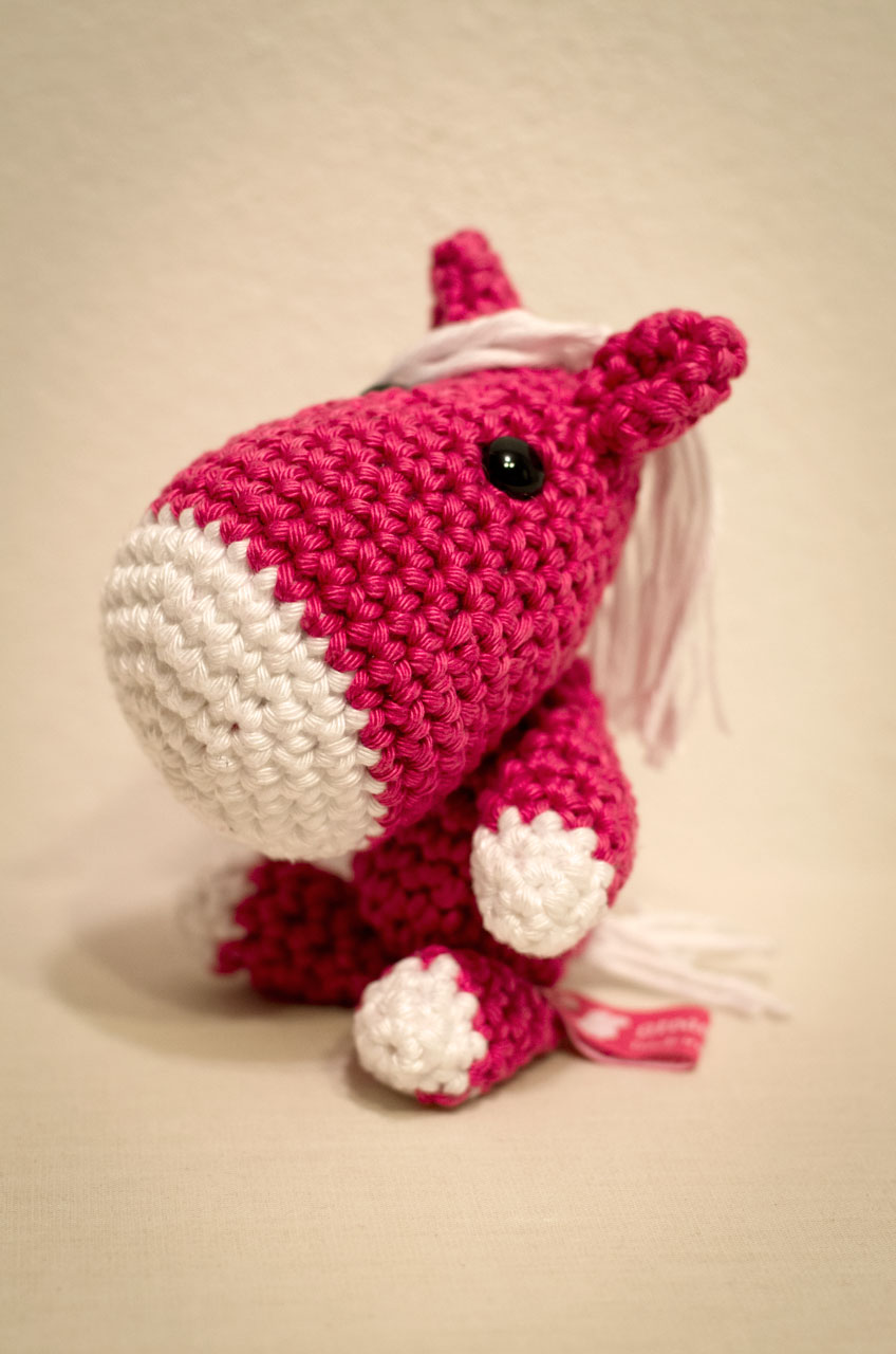 Crocheted Amigurumi Horse Toys Full Body Stock Photo (Edit Now ...   1280x848