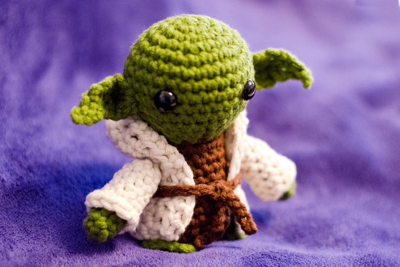 Star Wars Yoda Amigurumi Groaaar By Anjizilla