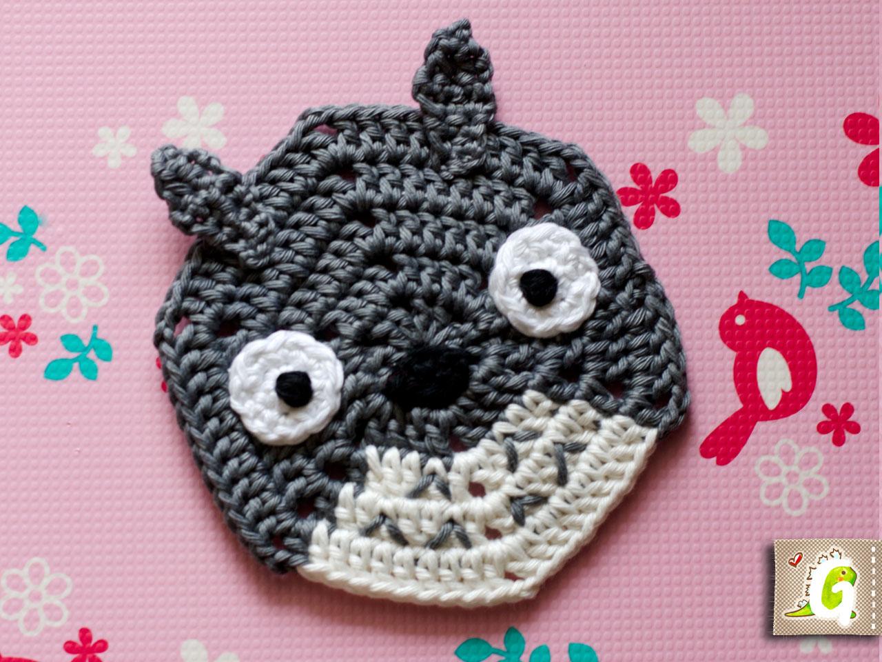 Totoro-Trio Häkelanleitung | 960x1280