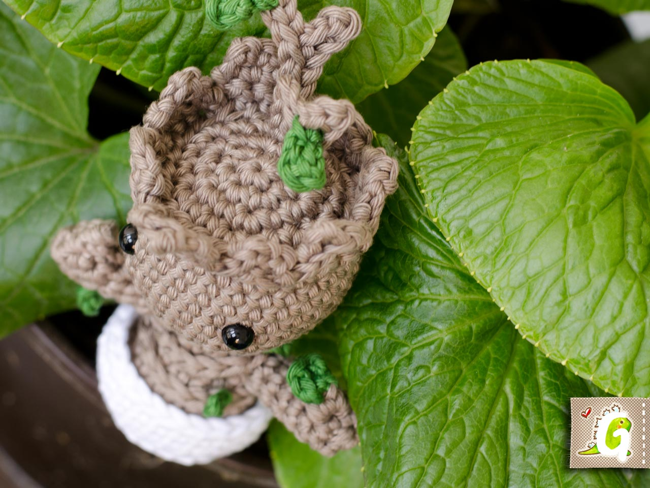 Noch Ein Baby Groot Amigurumi Groaaar By Anjizilla